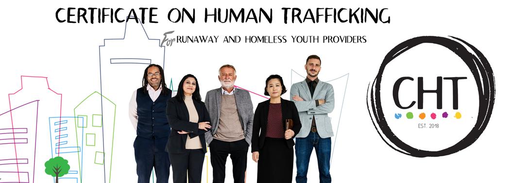 Certificate on Human Trafficking